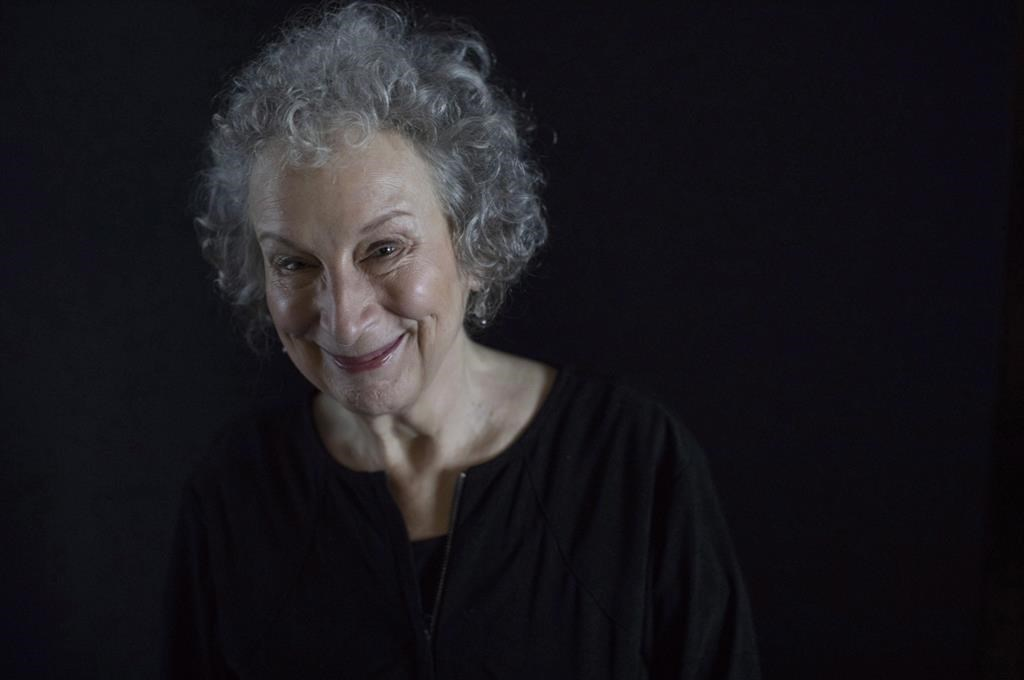 """Margaret Atwood poses for a photo as she promotes """"Alias Grace,"""" at the Toronto International Film Festival, in Toronto on Wednesday, Sept.13, 2017. THE CANADIAN PRESS/Chris Young."""