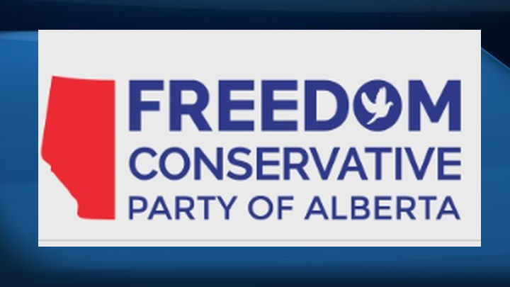 A file photo of the Freedom Conservative Party of Alberta's logo.