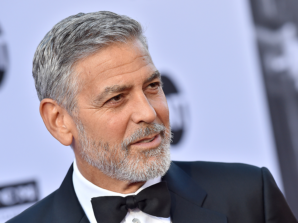 George Clooney arrives at the American Film Institute's 46th Life Achievement Award Gala Tribute to George Clooney on June 7, 2018, in Hollywood, Calif.