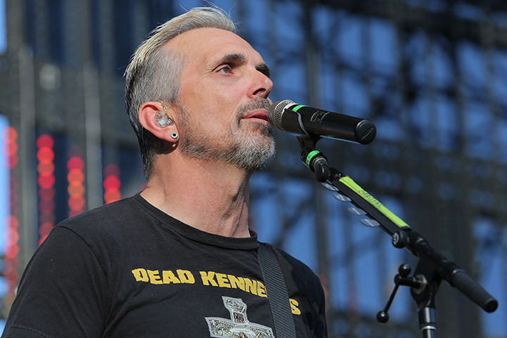 Art Alexakis of Everclear performs at Jack's 10th Show at Irvine Meadows Amphitheatre on June 20, 2015 in Irvine, Calif.