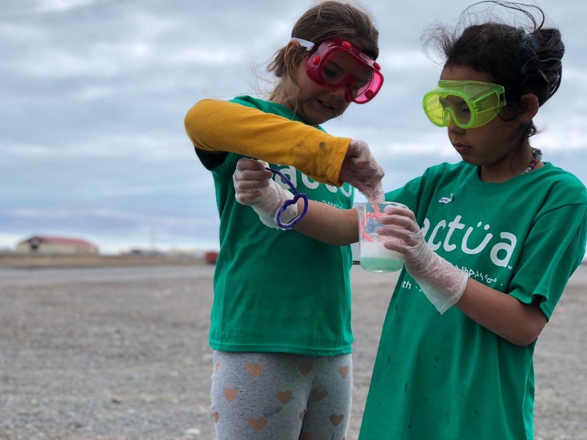 Actua offers STEM educational programs to children across Canada.