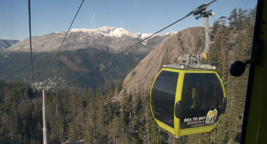 The Sea-to-Sky Gondola reopened Friday, six months and four days after vandals cut it down.