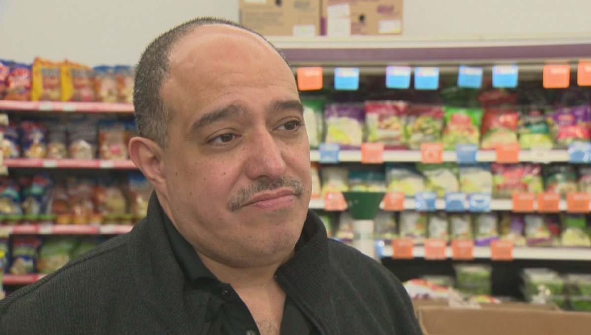 Munther Zeid, the owner of the Foodfare grocery store chain in Winnipeg.
