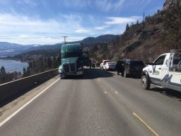 Continue reading: UPDATE: Crash on Highway 97 near Peachland cleared