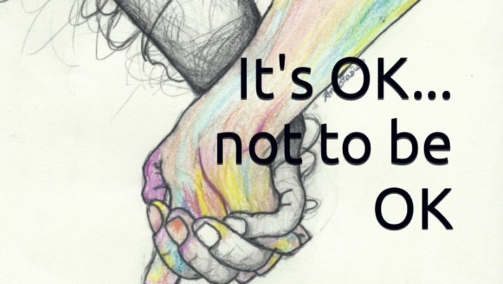 Hazlet, Sask. resident Stacy Antoniuk is sharing her work with the world in a book she released in January titled It's OK... not to be OK.