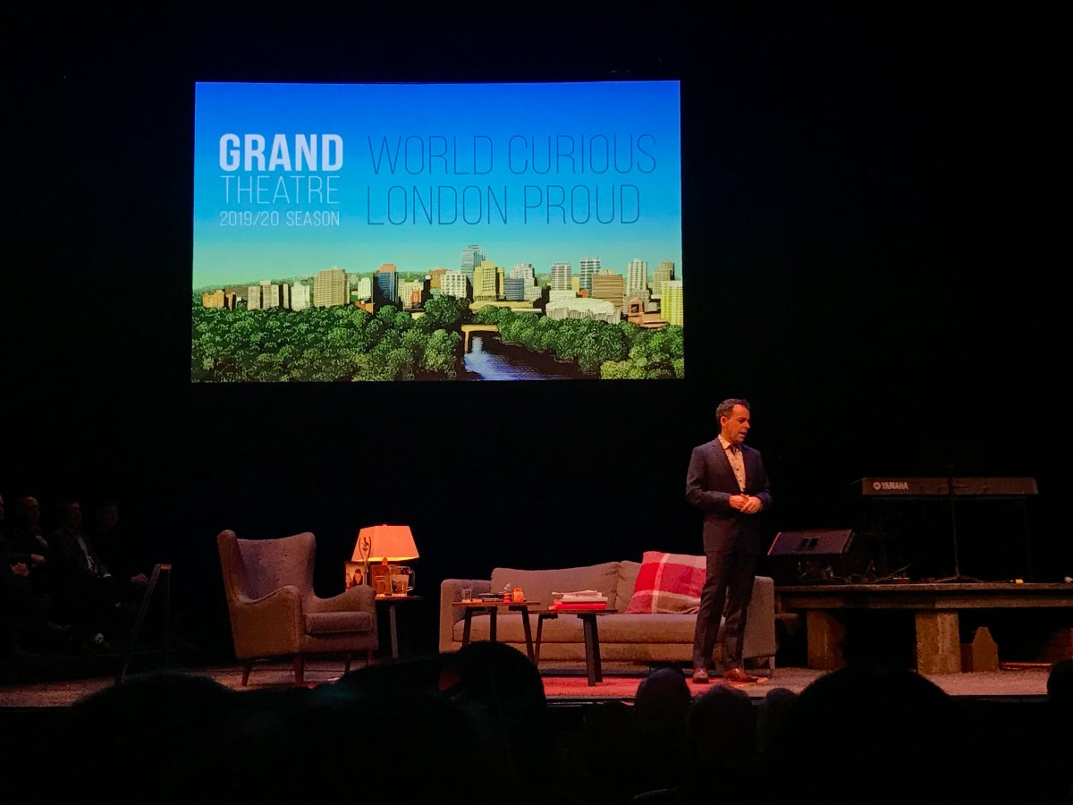 Grand Theatre artistic director Dennis Garnhum unveiled the 2019-20 season on March 26, 2019.