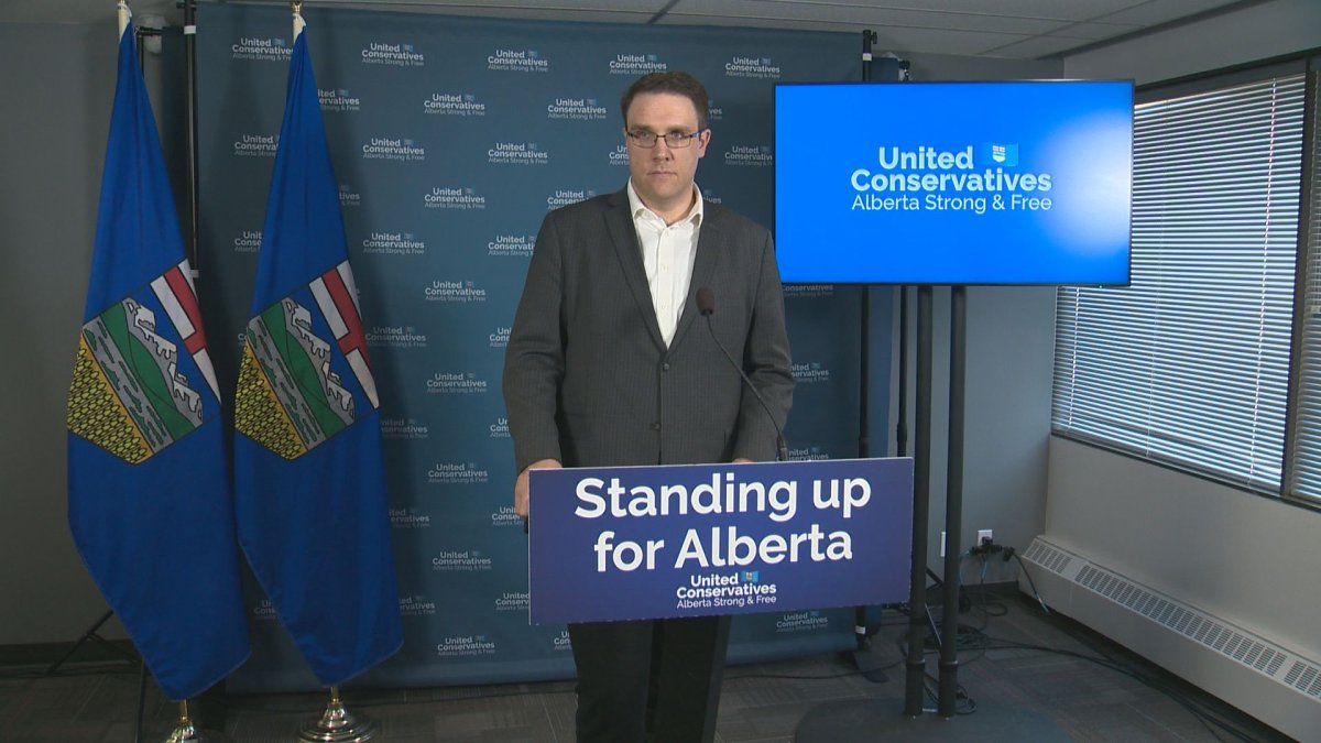 A 2019 file photo Alberta Environment Minister Jason Nixon.