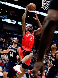 Continue reading: Kawhi Leonard leads Toronto Raptors in 127-104 defeat over New Orleans Pelicans