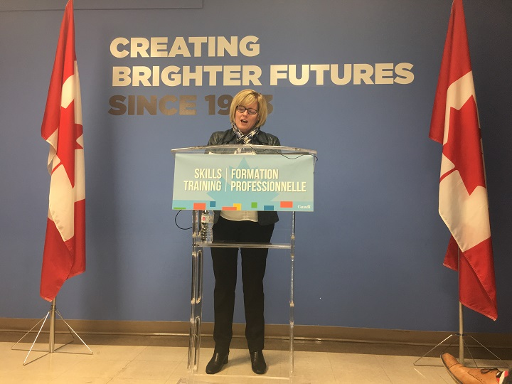"""MP Carla Qualtrough of Delta, B.C., says Liberals are """"rallying behind Trudeau because they believe him.""""."""