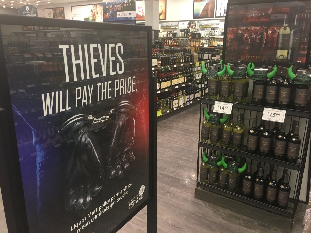 New anti-theft entrances/exits are being considered for Manitoba Liquor Marts.