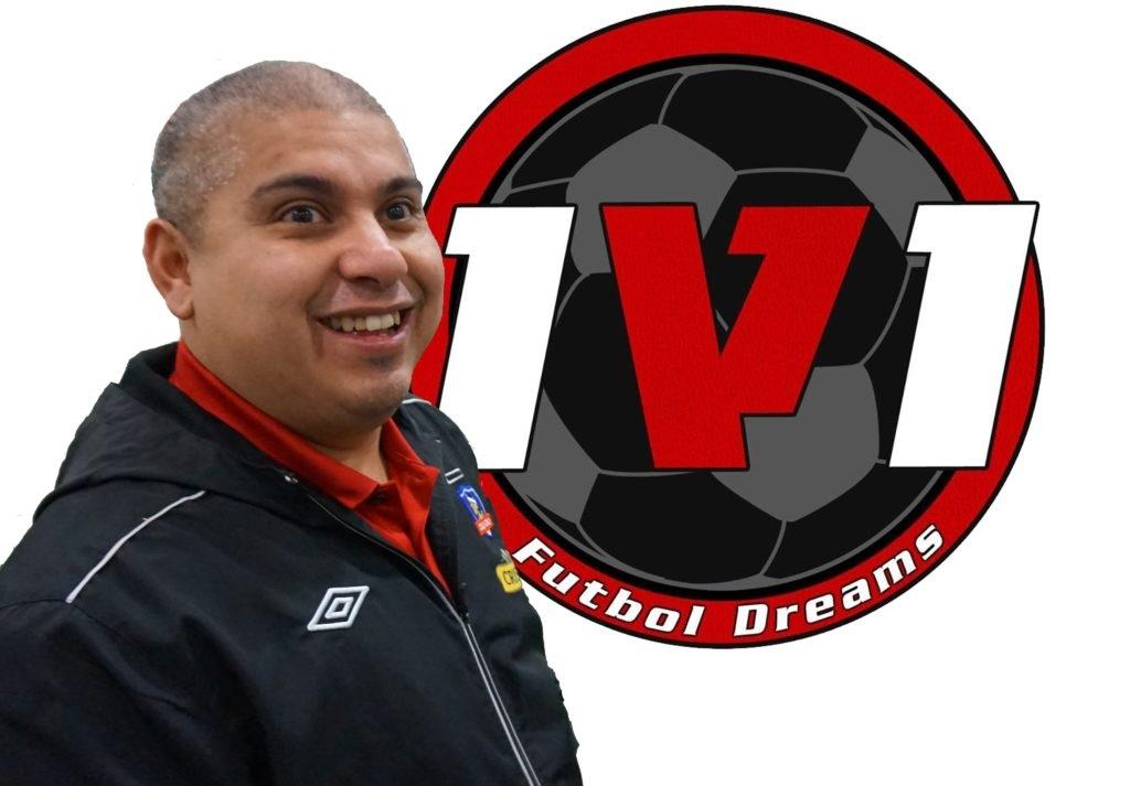 One V One Soccer Academy technical instructor Nano Romero.