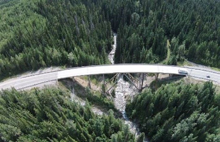 The provincial government says it will be investing $71.5 million to upgrade a section of the Trans-Canada Highway near Golden, B.C.