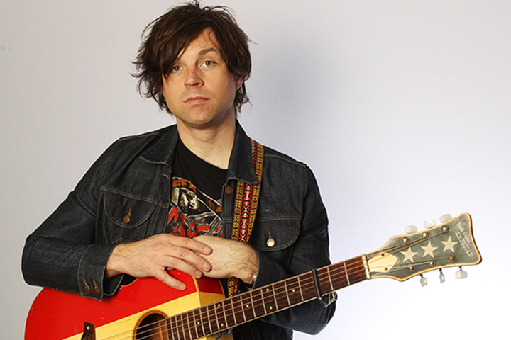 Ryan Adams performs for a Biz Session on Sept. 1, 2011 in London, England.