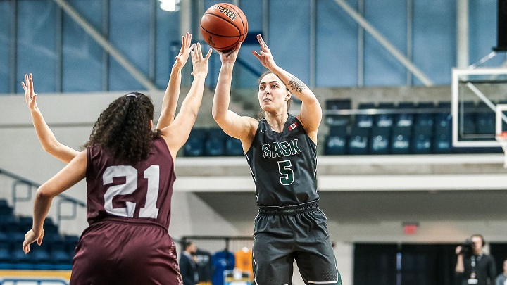 The Saskatchewan Huskies fall 63-62 to the Ottawa Gee-gees in the U Sports women's basketball championship's bronze medal game on Sunday, despite a 19-point first-half lead.