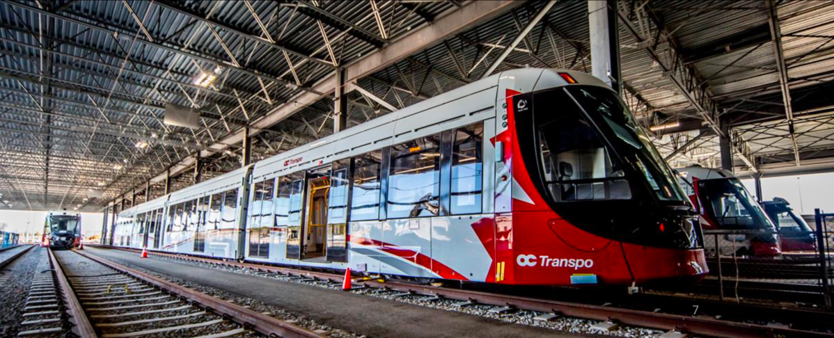 There has been a shortage of trains on Ottawa's LRT line for three days in a row so far this week.