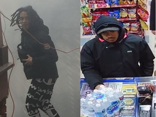 Brantford police have released photos of two men wanted in connection with a daylight shooting.
