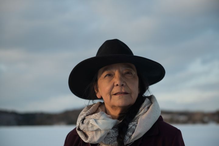 Tantoo Cardinal has been in over 100 screen projects, yet she's just now enjoying her first leading role in a film.