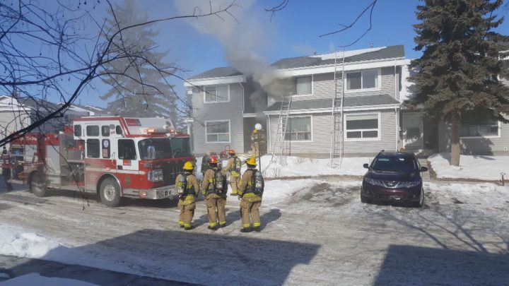 Calgary fire crews responded to a basement fire in the northeast on Tuesday, March 5.