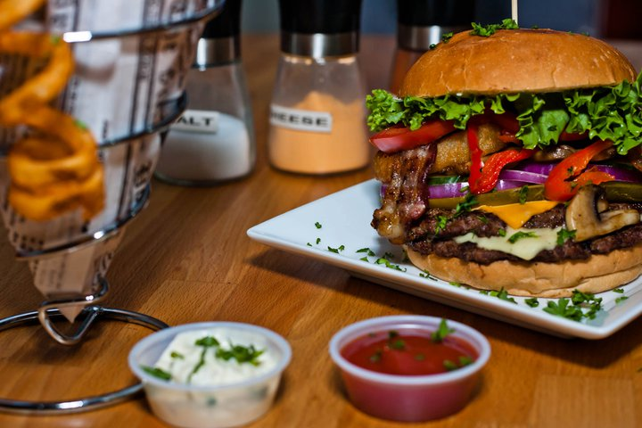 The Burger Joint in south Edmonton was recently named one of the best 50 burger restaurants in Canada.