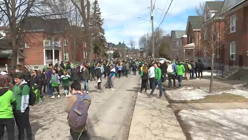 Kingston city officials are warning young people not to participate in unauthorized gatherings, or fines under the nuisance bylaw will be laid.