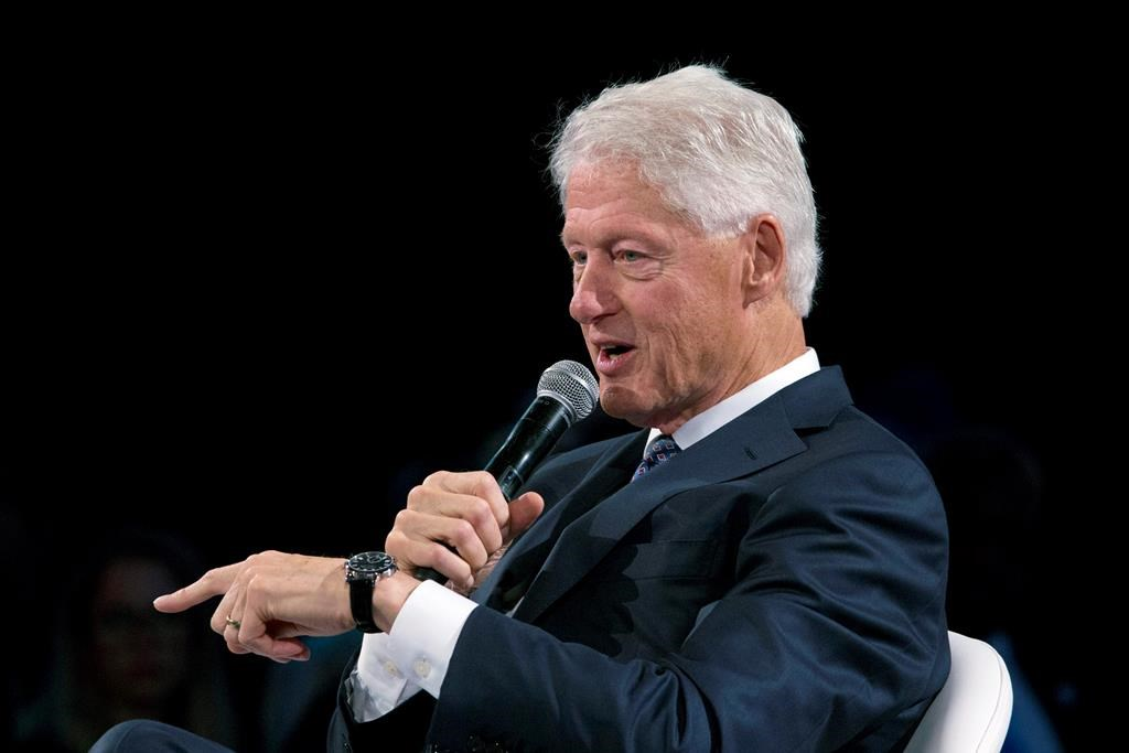 Bill Clinton is 'doing fine' and will be out of hospital soon, Biden says