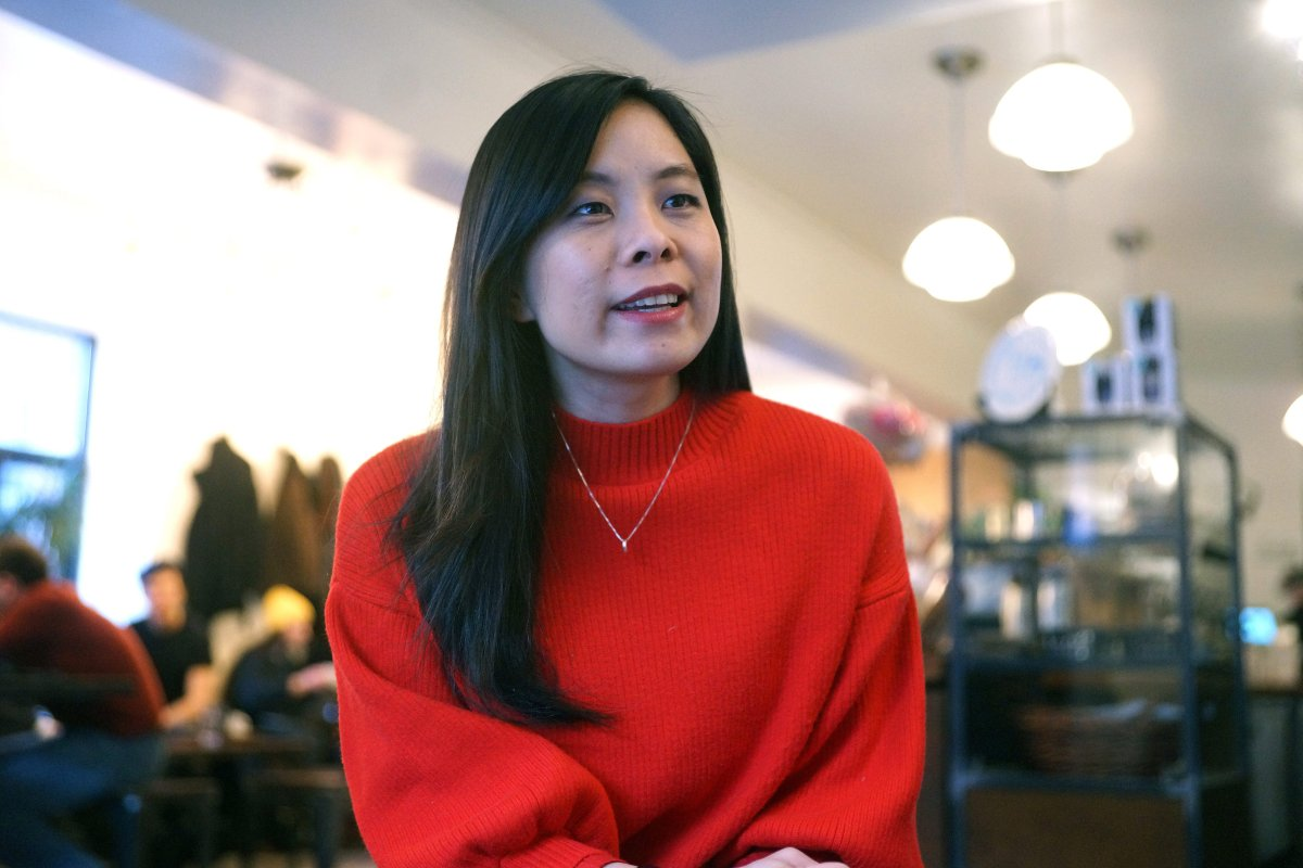 Cathy Wong, first female Speaker of Montreal's city council, in Montreal.