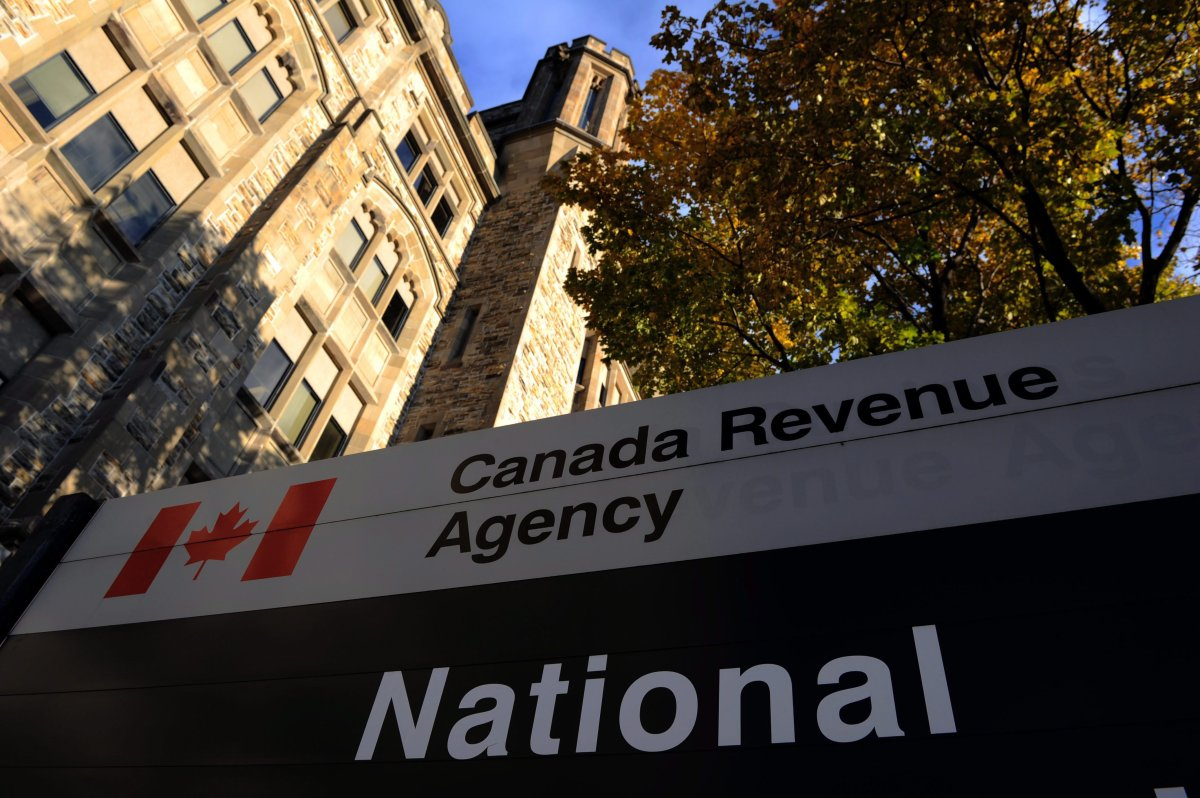The Canada Revenue Agency headquarters in Ottawa is shown on November 4, 2011.