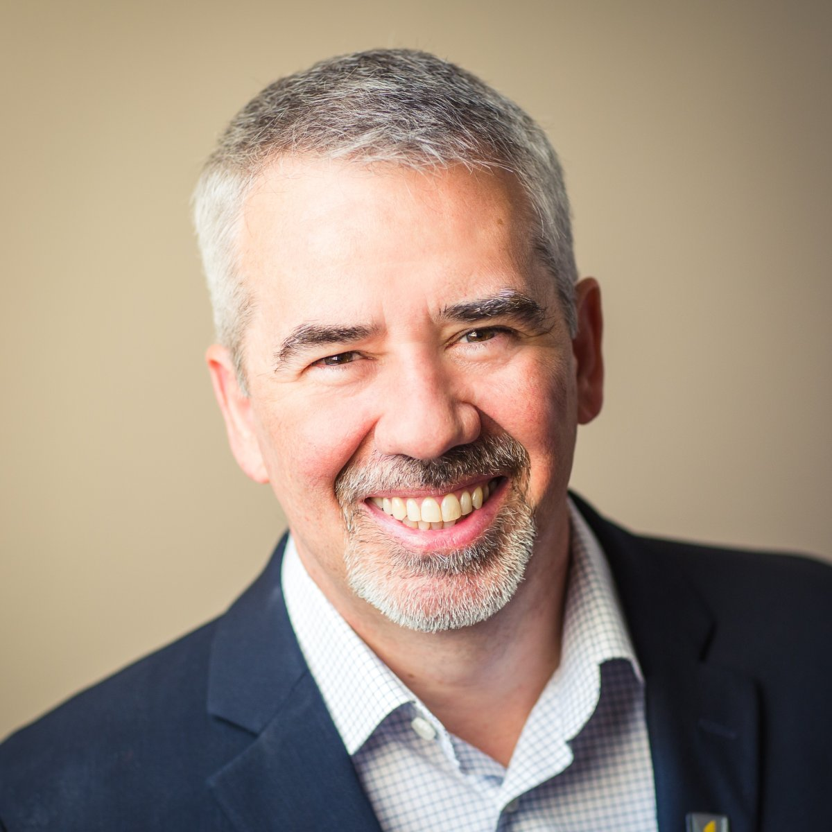 Edmundston, New Brunswick Mayor Cyrille Simard is shown in a handout photo. Simard is rolling out the welcome mat for Quebecers upset with their province's move to restrict some people from wearing religious symbols.