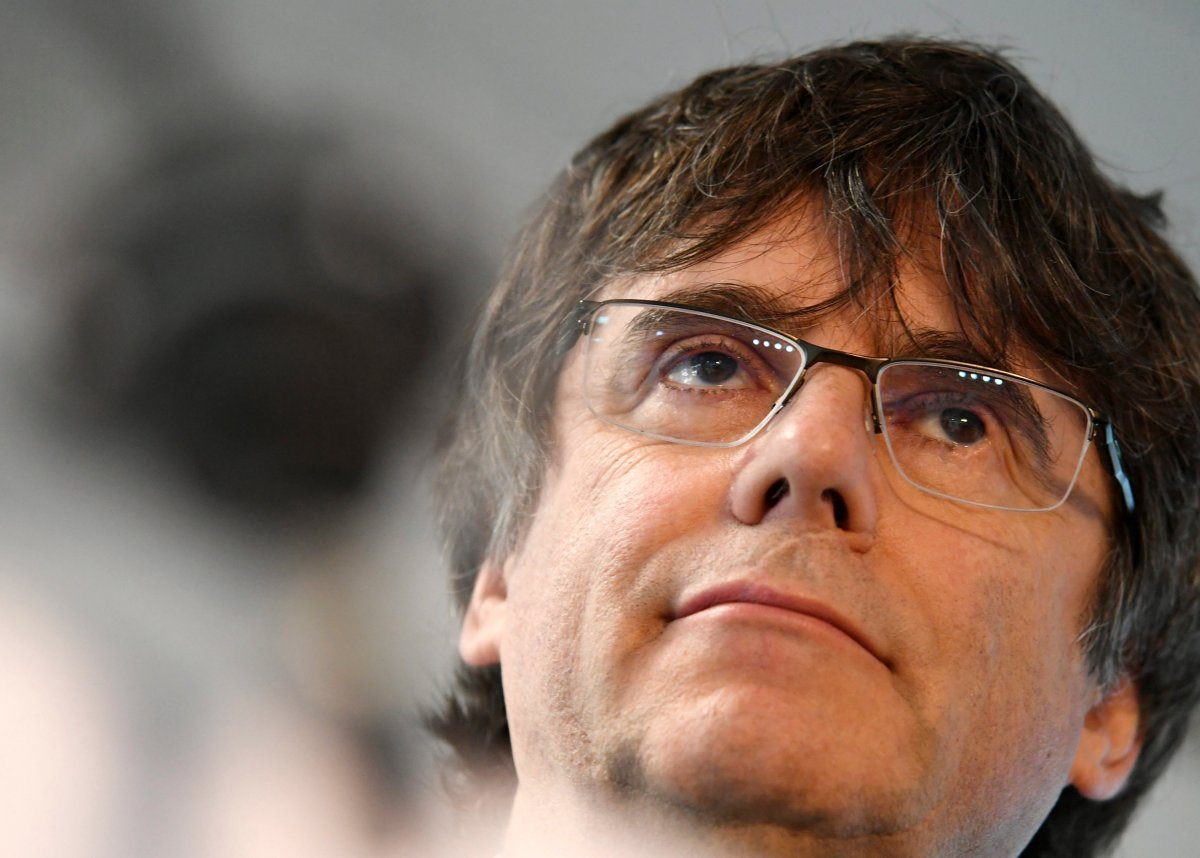 Former Catalan leader Carles Puigdemont fled Spain in 2017 to avoid prosecution after his regional government held an unauthorized referendum on independence.