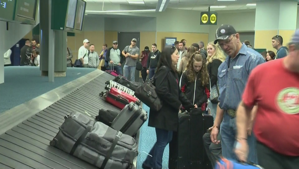 Richmond RCMP say a Vancouver woman is facing seven charges of theft after she allegedly pilfered luggage from YVR's domestic luggage carousels this summer.
