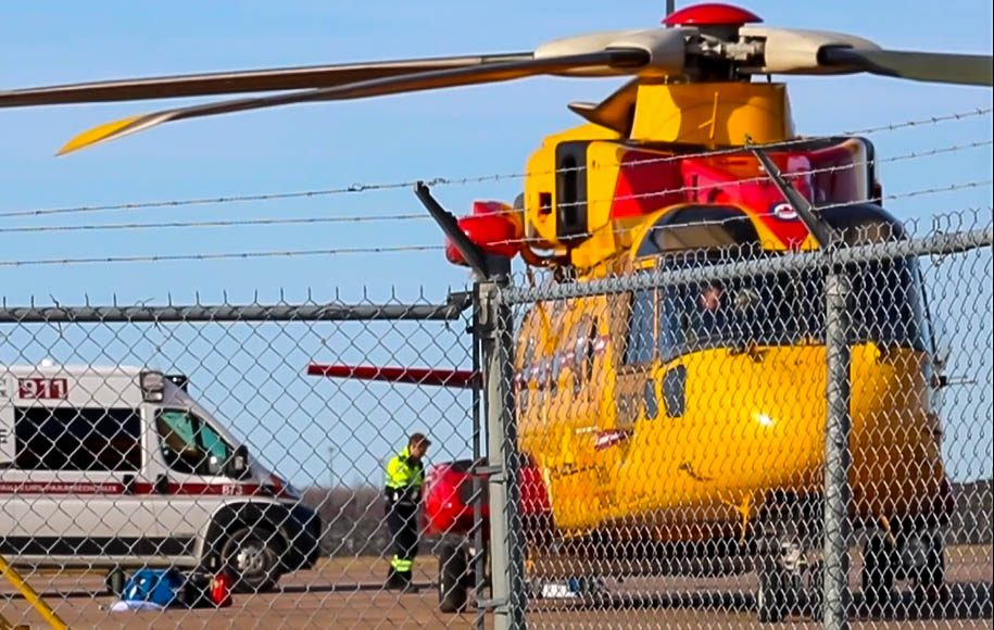One man is dead after a boat capsized near Bouctouche, N.B.,, on Tuesday.