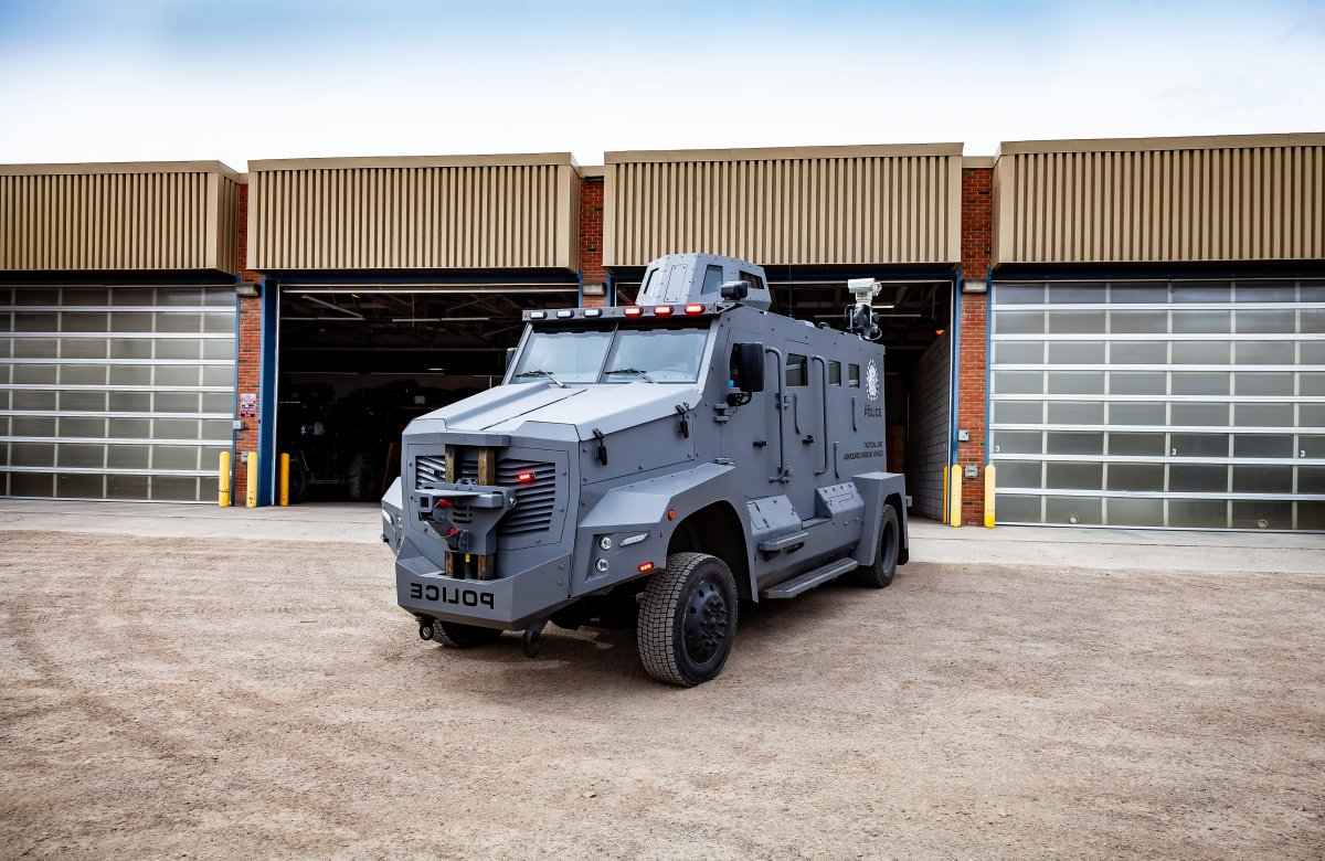 The Calgary Police Service (CPS) is replacing its Armoured Rescue Vehicle (ARV) used by the CPS Tactical Unit.