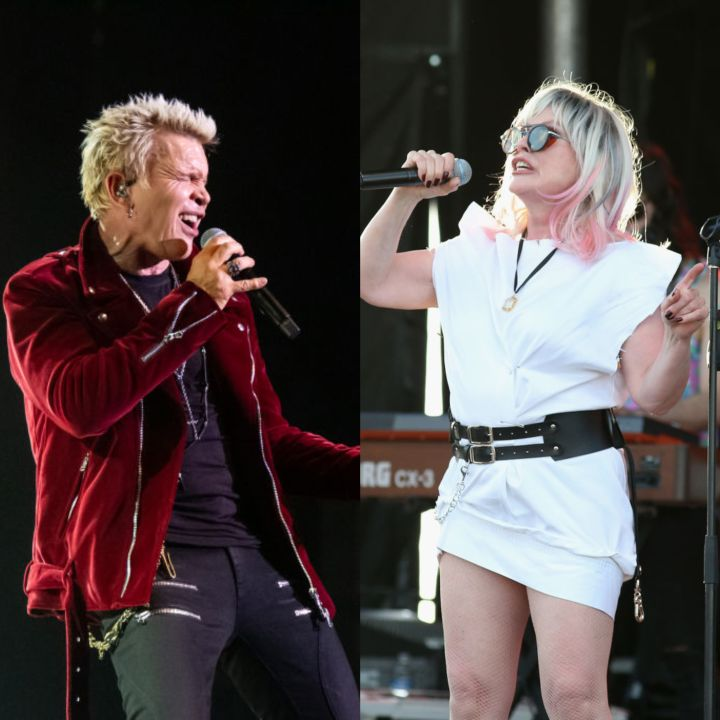 Billy Idol and Blondie are set to perform at the 2019 Roundup MusicFest at Shaw Millennium Park on Wednesday, July 10.