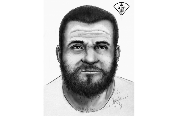 Barrie police have released a sketch of a suspect in an alleged break-in and assault that happened on Cygnus Crescent.