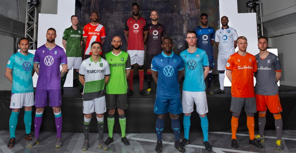 The Canadian Premier League has unveiled the uniforms of all seven teams in advance of its inaugural season.