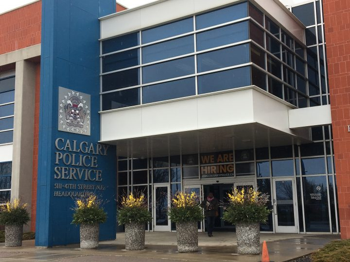 Calgary Police Service headquarters.