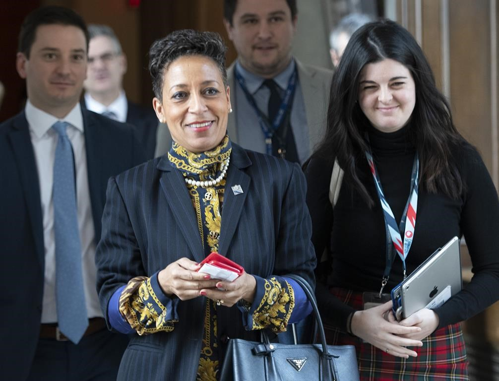 Quebec International Relations and Francophonie Minister Nadine Girault has lung cancer.