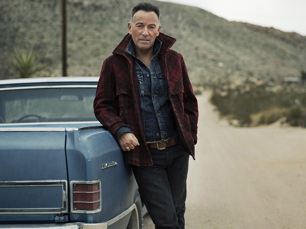 Bruce Springsteen in a press photo for his 'Western Stars' solo album in 2019.