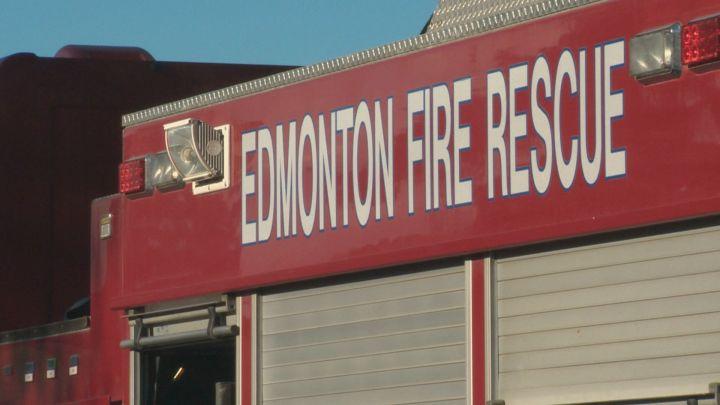 A file photo of an Edmonton fire truck.