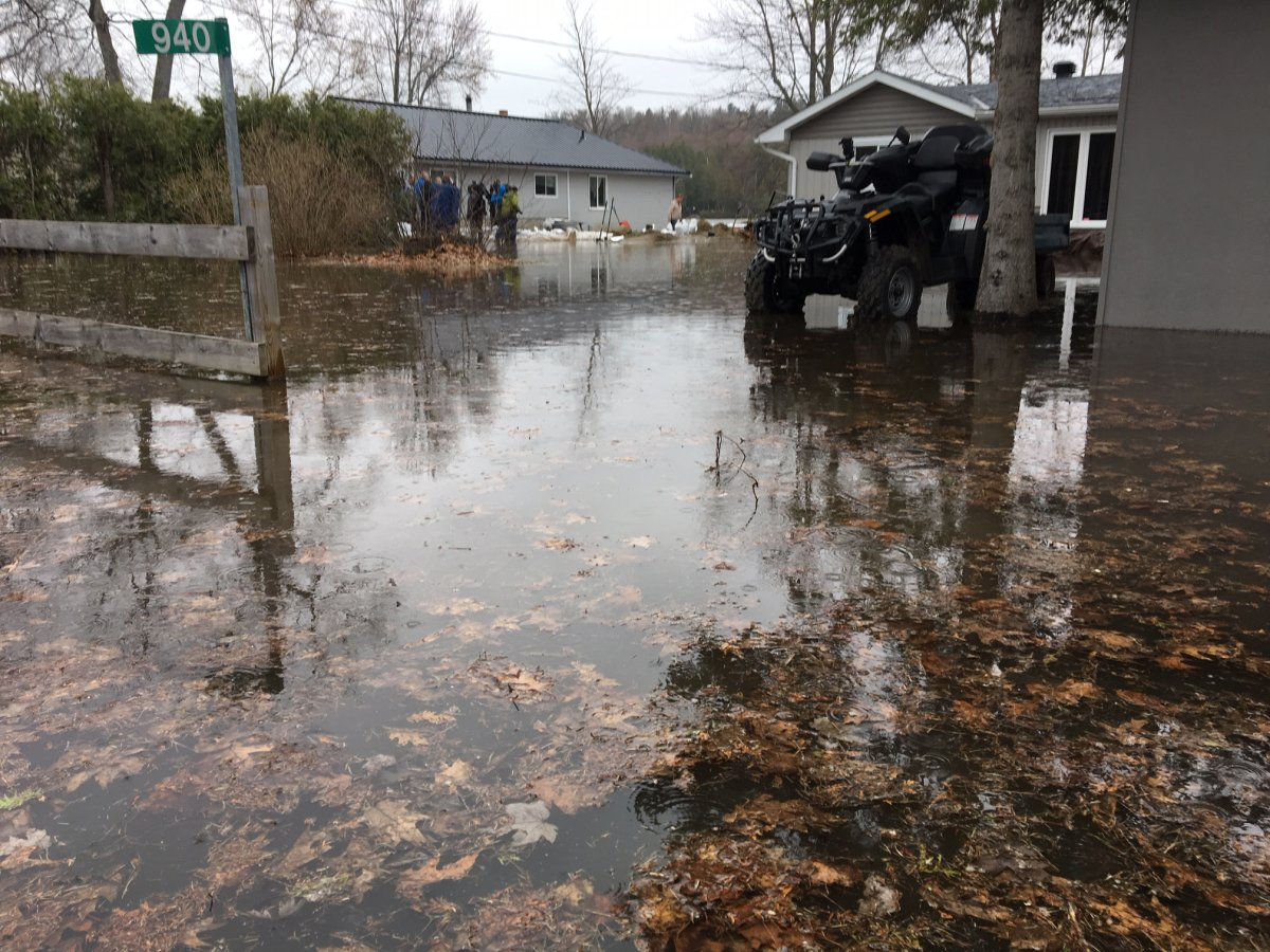 Residents of Constance Bay in rural west Ottawa are fighting to save their homes from the flooding Ottawa River. Image taken on Friday, April 26, 2019.