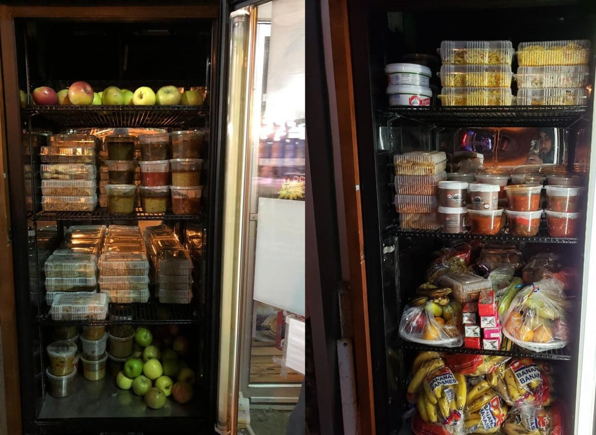 A community fridge will be launched at the Onward Willow Community Centre on Saturday.