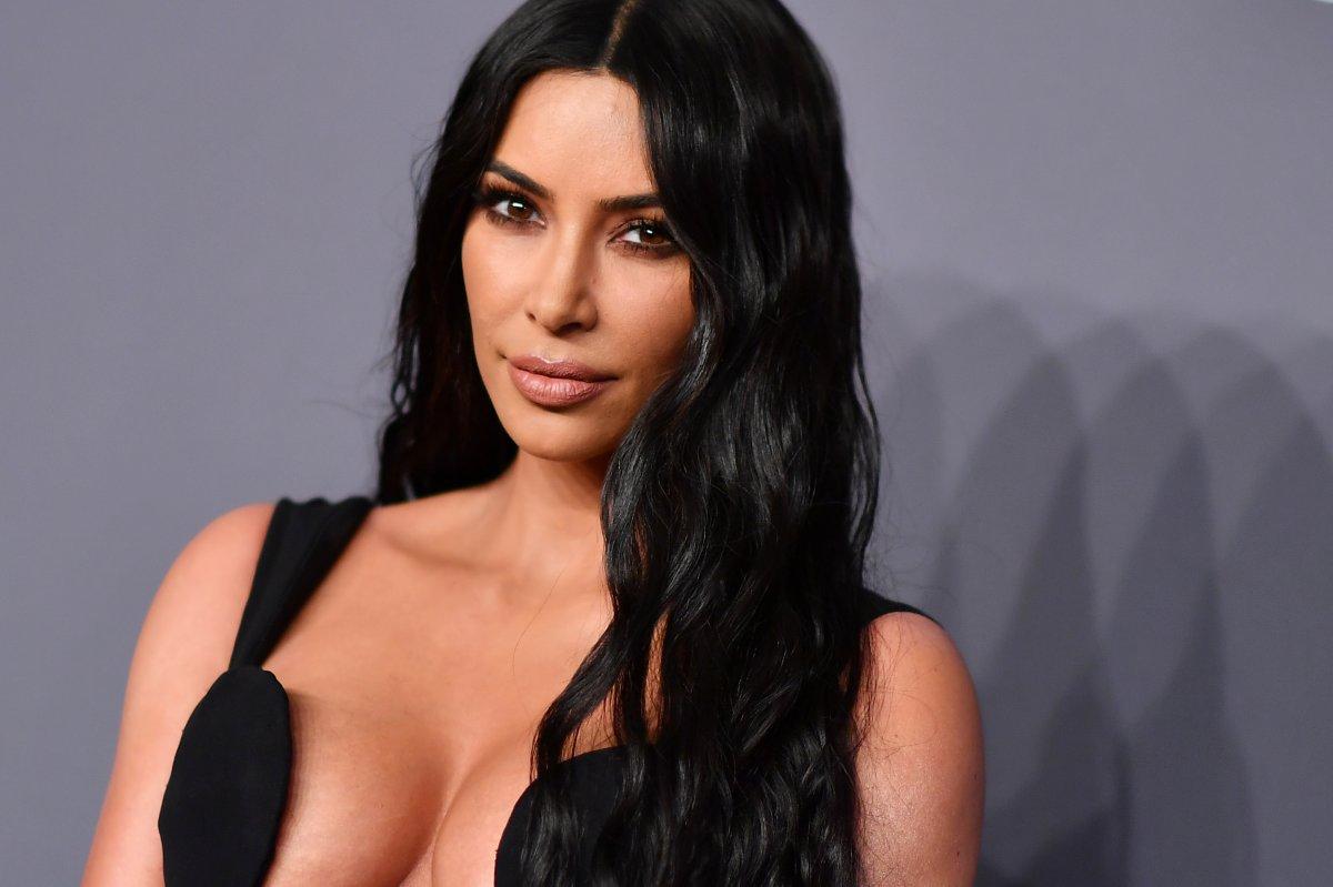 Kim Kardashian arrives to attend the amfAR Gala New York at Cipriani Wall Street in New York City on Feb. 6, 2019.