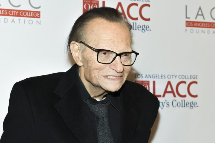 Larry King. Photo: Rodin Eckenroth/Getty Images.