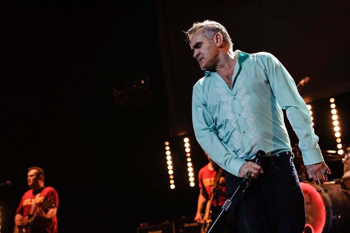 Morrissey performs at Radio City Music Hall on Oct. 10, 2012 in New York City.