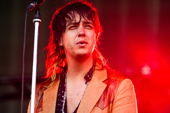 Julian Casablancas of The Strokes performs as part of the British Summer Time 2015 gigs at Hyde Park on June 18, 2015 in London, England.