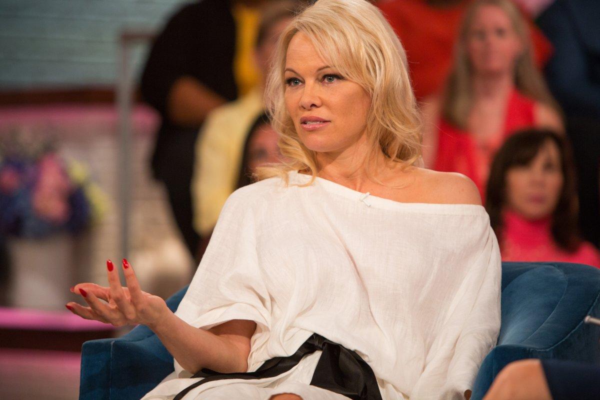 Pamela Anderson has responded to news of Julian Assange's arrest.
