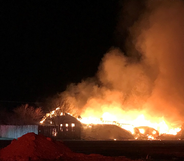 The Valley View Hotel in Tantallon, Sask., burned for six hours on April 25.