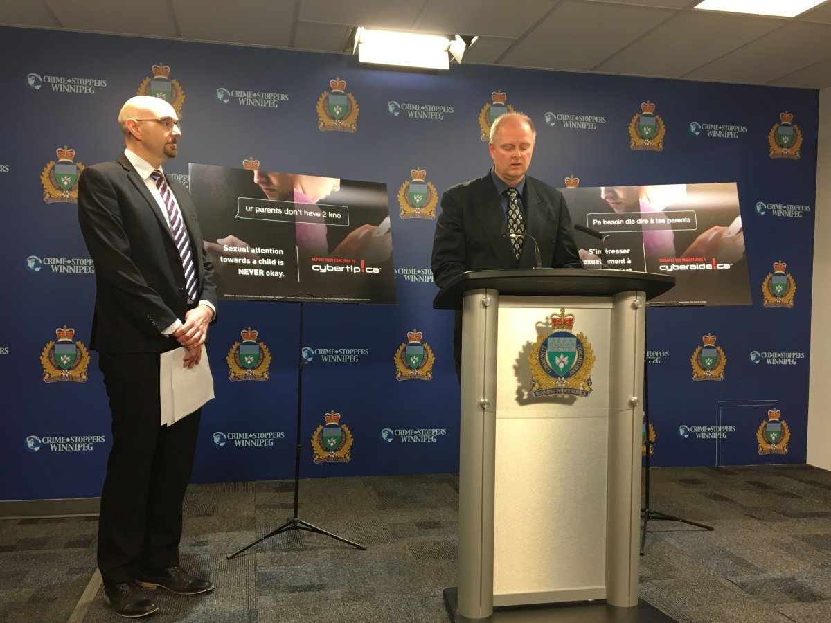 Winnipeg police teamed up with the Canadian Centre for Child Protection for Project Hook 2.0.