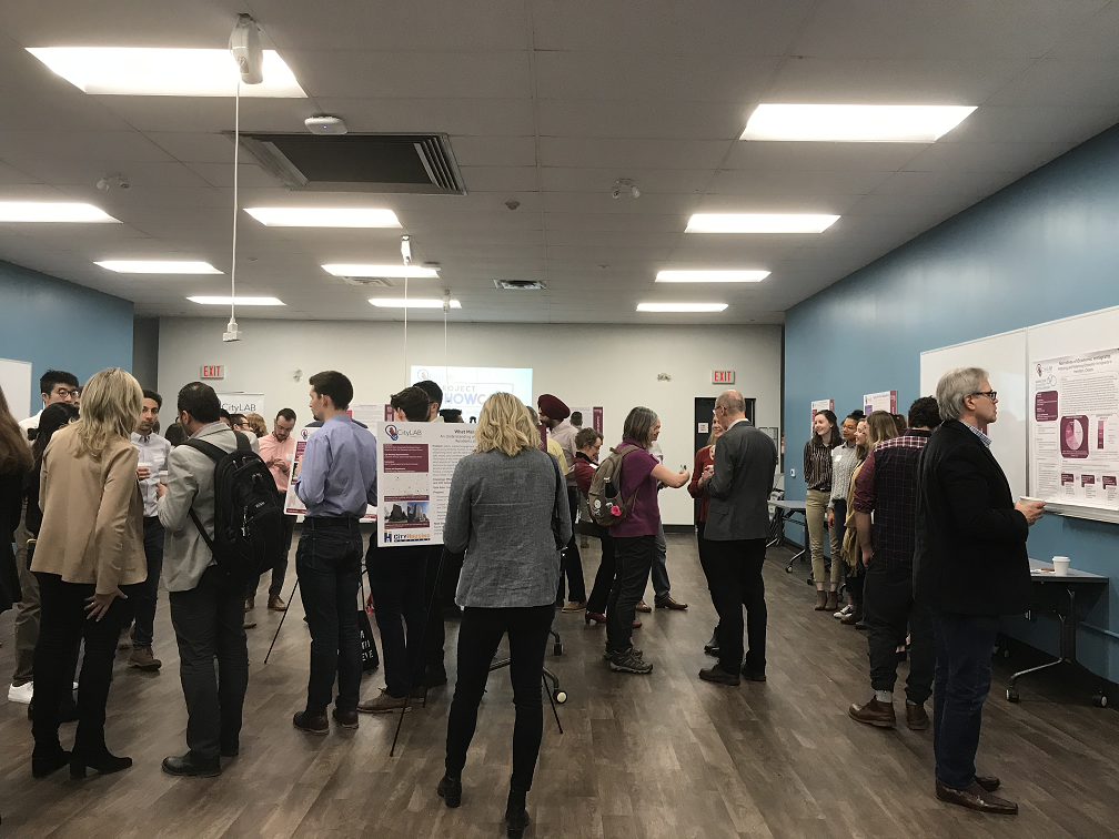 CityLAB Hamilton held its spring showcase to show off projects created by local post-secondary students to solve real challenges in the city.