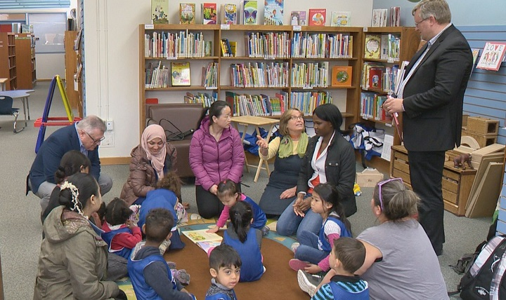 The federal and provincial governments announced more than $2million in funding for literacy initiatives for children aged six and under in Saskatchewan.